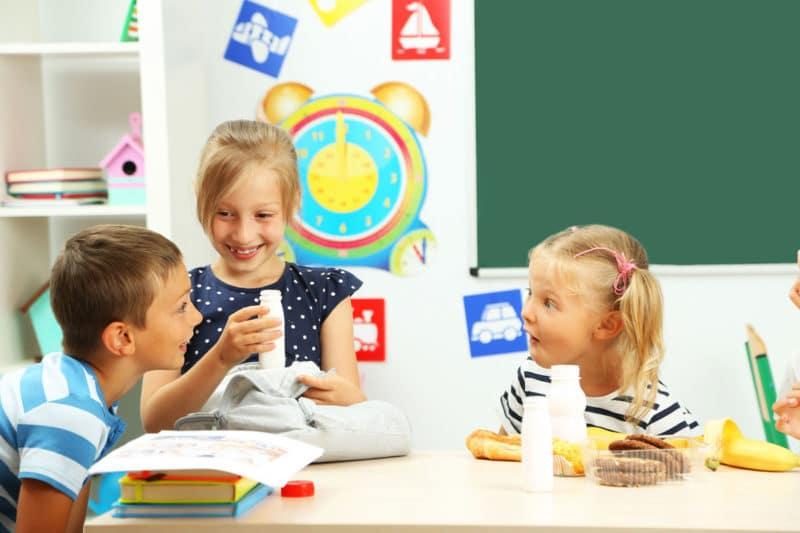 Alimentos concentración infantil