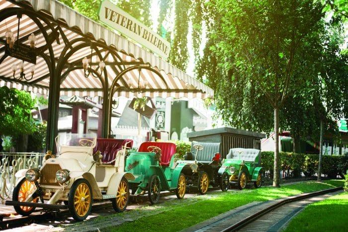 Coches de época Jardines de Tivoli