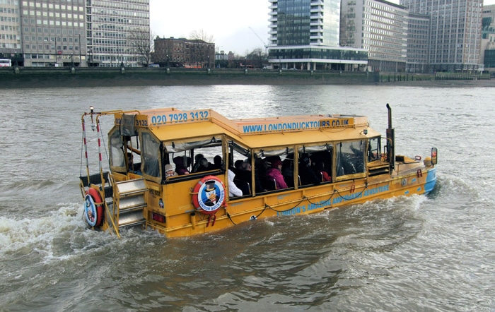 Duck Tour, en Londres