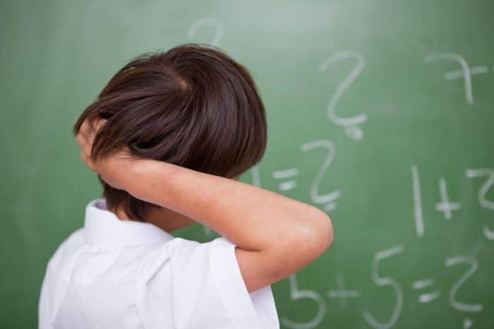 Las causas de la discalculia infantil