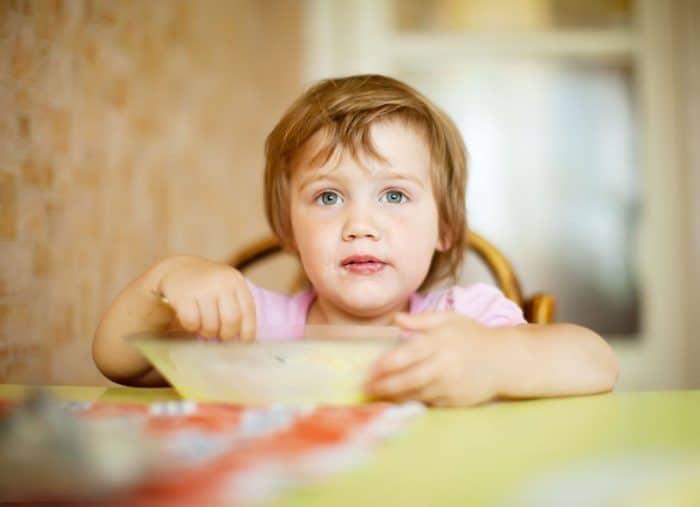 Meriendas sanas para niños