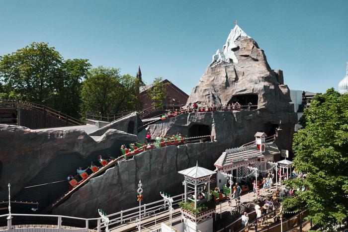 Montaña rusa Jardines de Tivoli