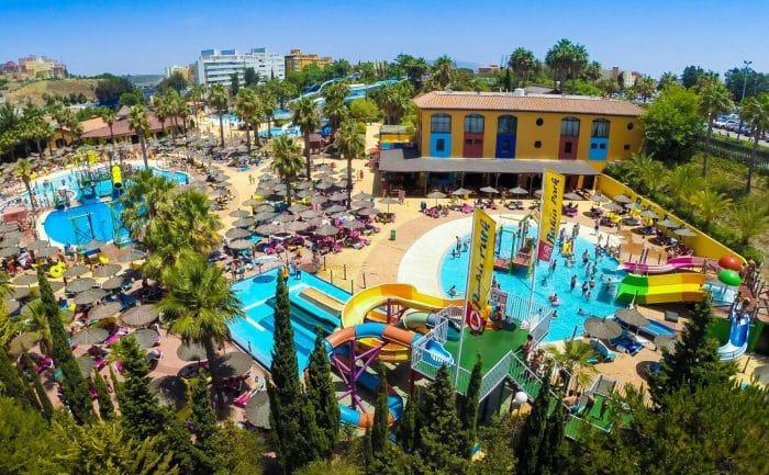 Parque acuático Bahía Park, en Algeciras - Etapa Infantil