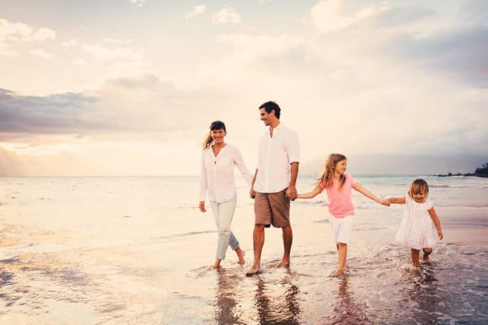Actitud positiva padres e hijos