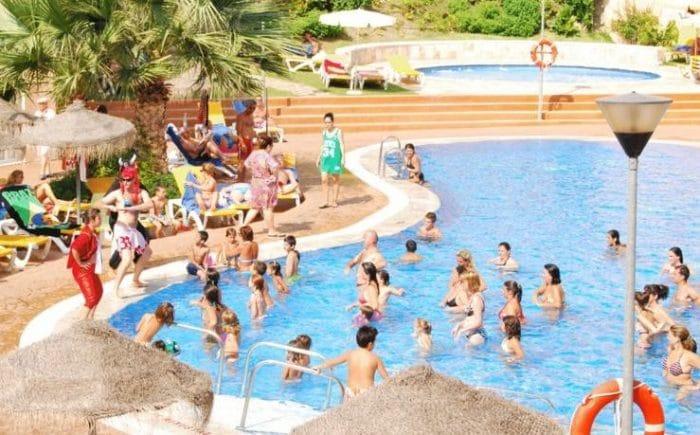 Hotel Bahía Tropical, en Almuñécar, Granada