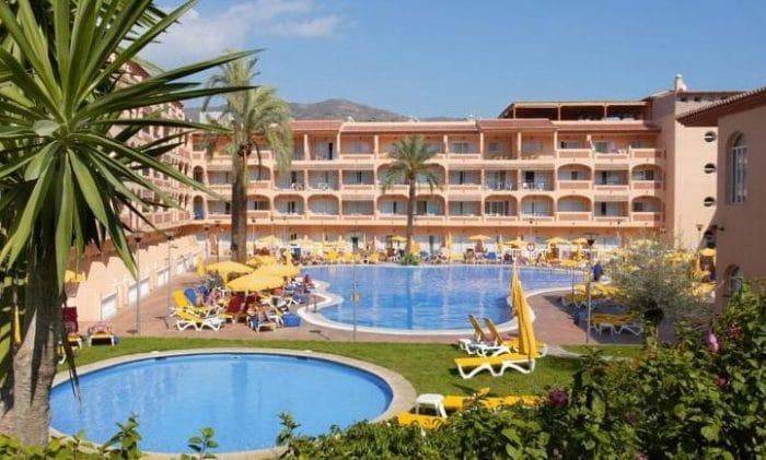Hotel Bahía Tropical, en Almuñécar