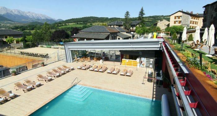Hotel para ir con niños Cerdanya EcoResort & Spa, en Prulláns, Lleida