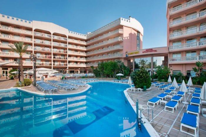 Hotel para niños Dorada Palace, en Salou, Tarragona