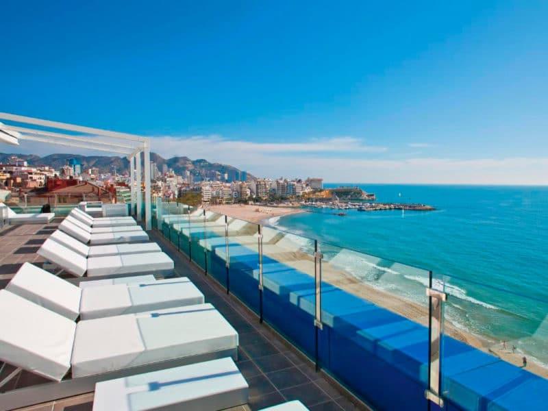Hotel Villa del Mar, en Benidorm