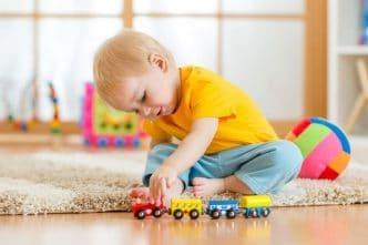 Juguetes desarrollo cognitivo infancia