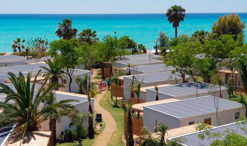 Playa Camping Alannia Els Prats, en Miami Platja, Tarragona