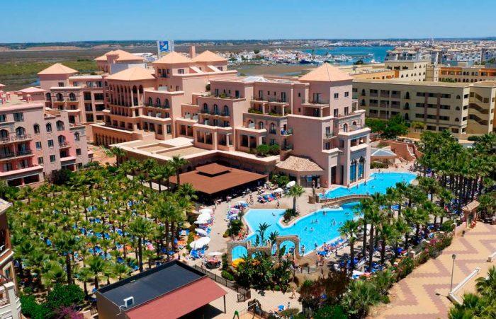 Hotel todo incluido Playacanela Hotel, en Isla Canela, Huelva