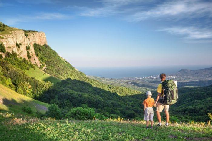 Rutas de senderismo con niños