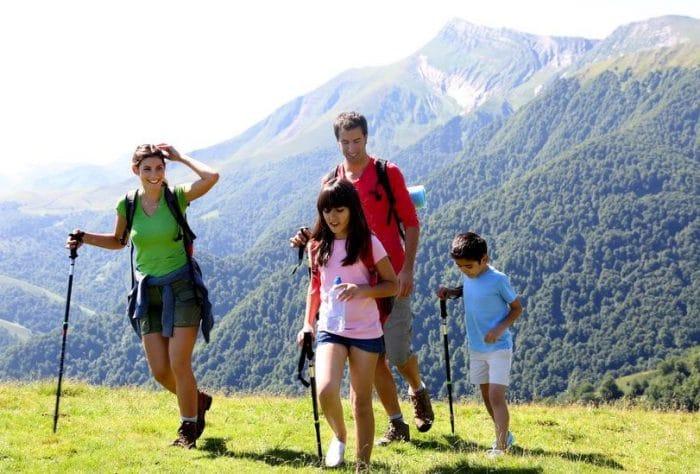 Rutas senderismo familias