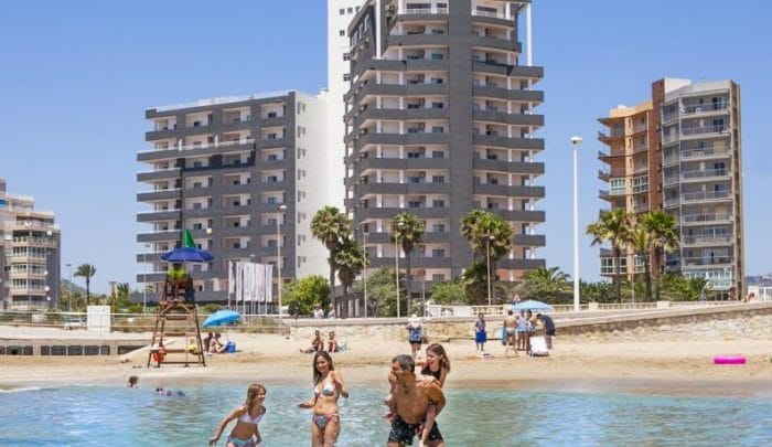 ApartahotelPort Europa, en Calpe, Alicante