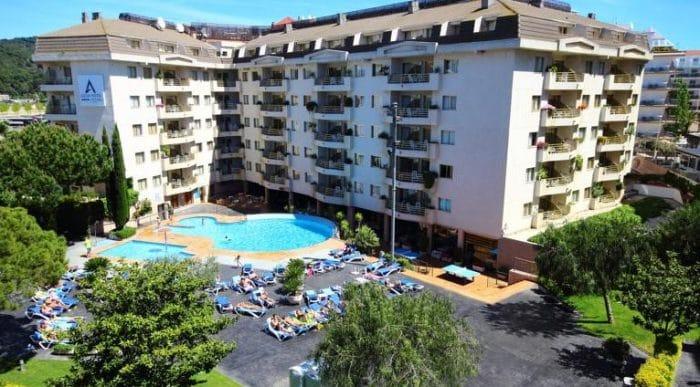 Aqua Hotel Montagut Suites, en Santa Susanna, Barcelona