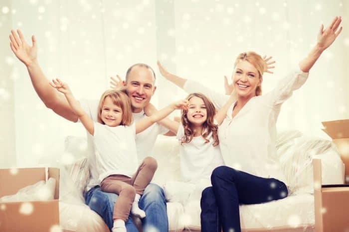 Caos y desorden en familias con niños
