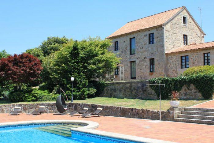 Casa rural Casa a Pedreira, en Cuntis, Pontevedra