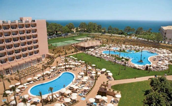 Hotel Clubhotel Riu Guarana, en Olhos D'Agua, Albufeira, Portugal