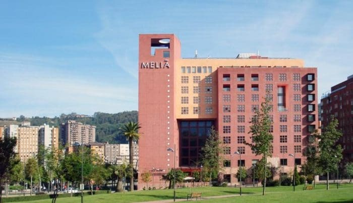 Hotel Meliá Bilbao, en Bilbao