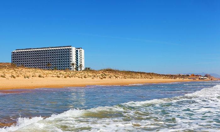 Hotel Playas de Guardamar, en Campomar, Alicante