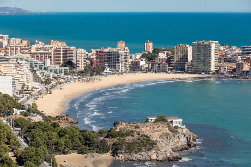 Playa de la Concha, en Oropesa del Mar, Castellón