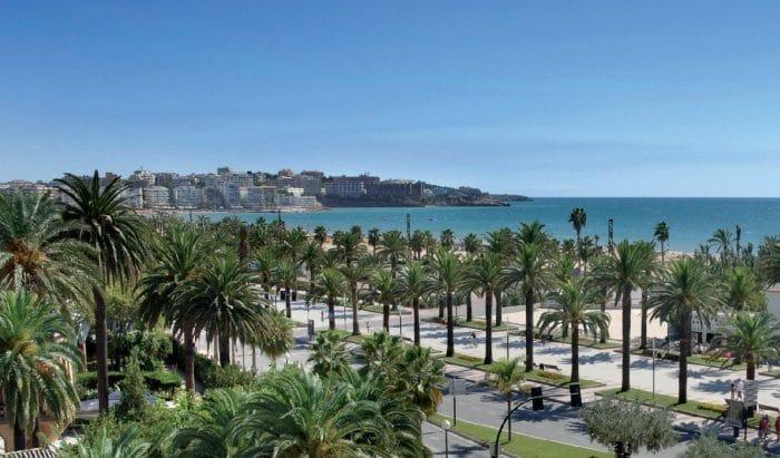 Playa de Levante, en Salou, Tarragona