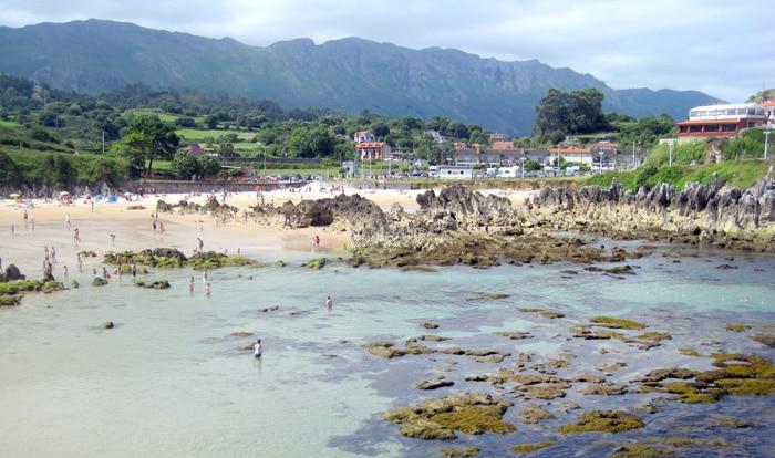 Playa de Toró, en Llanes, Asturias