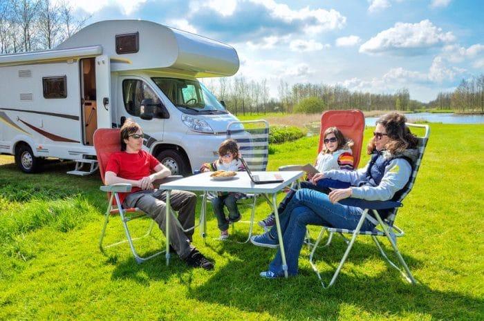 Vacaciones en caravana con niños