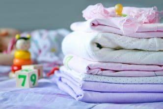 Canastilla ropa bebé recién nacido hospital