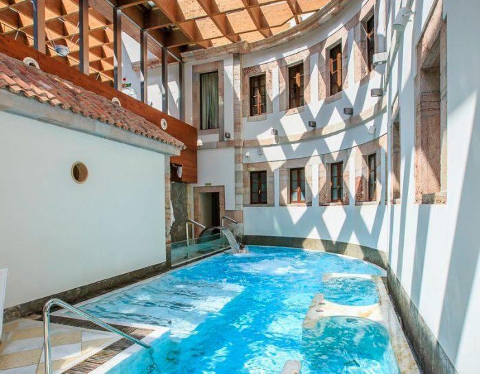 Balneario Las Caldas Villa Termal, en Oviedo, Asturias