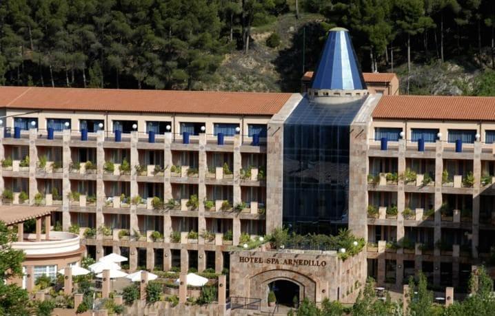 Balneario TermaEuropa Arnedillo, en La Rioja