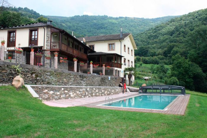 Casa rural Agudín, en Cangas del Narcea, Asturias