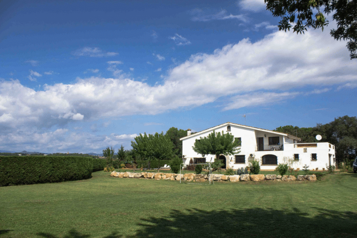 Casa rural Can Rossa, en Quart, Girona