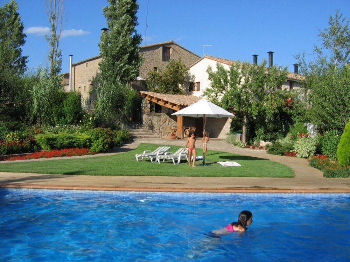 Casa rural El Corral de Lladurs, en Lleida