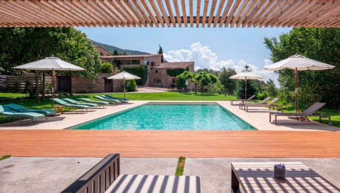 Casa rural El Nus de Pedra, en Llorá, Girona