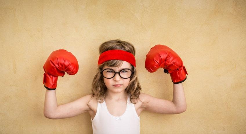Enseña a las niñas a ser valientes