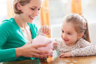 Enseñar a los niños el valor del dinero