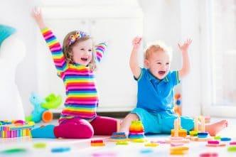 Cómo enseñar los colores a los niños