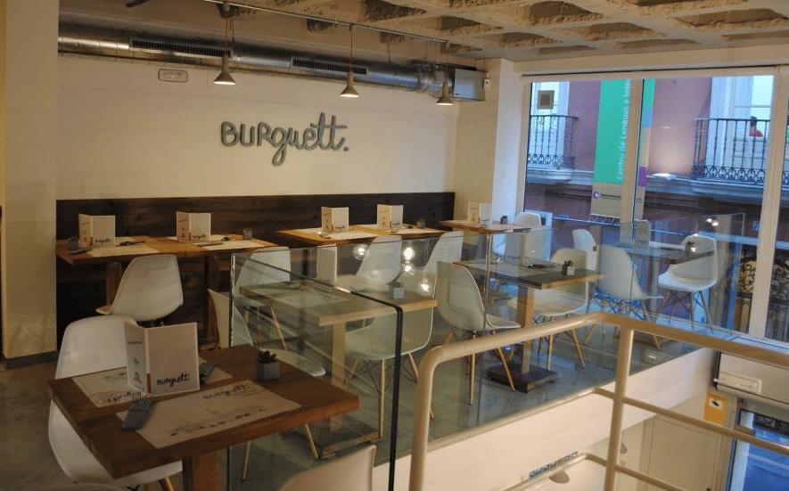 Hamburguesería Burguett, en Sevilla