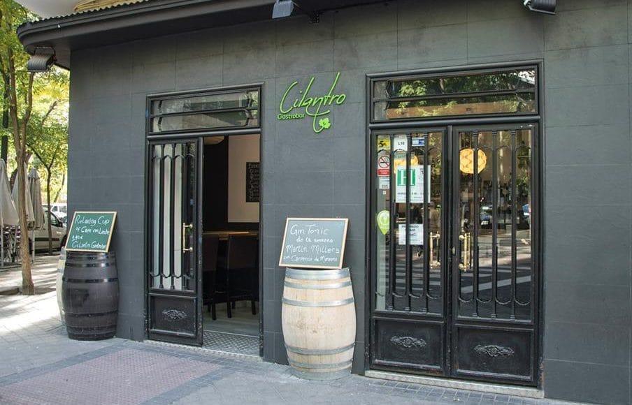 Hamburguesería Cilantro, en Madrid