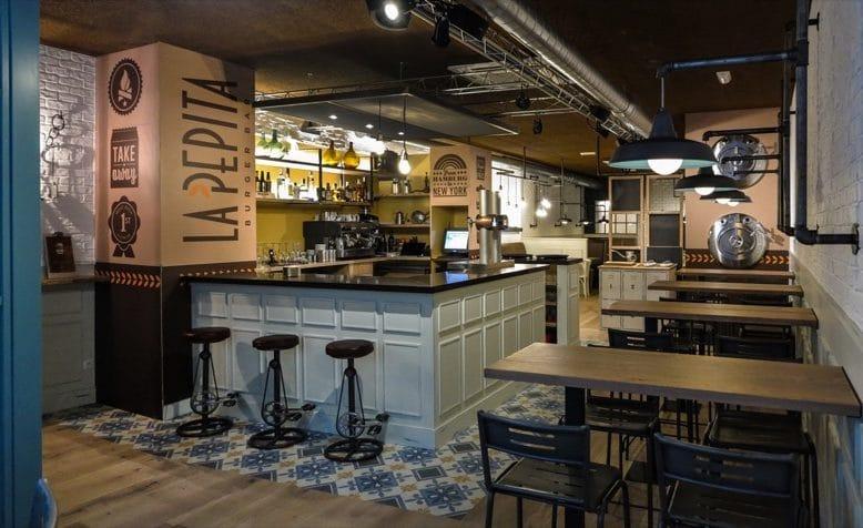 Hamburguesería La Pepita Burger Bar, en A Coruña