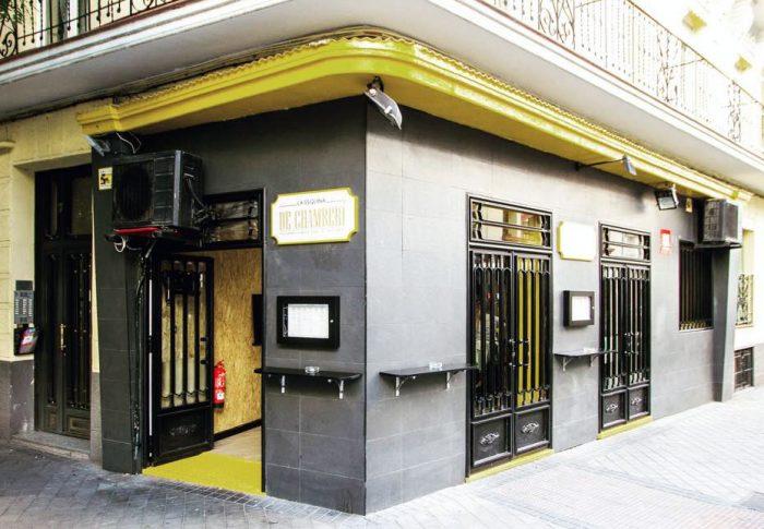 Hamburguesería La Esquina de Chamberí, en Madrid