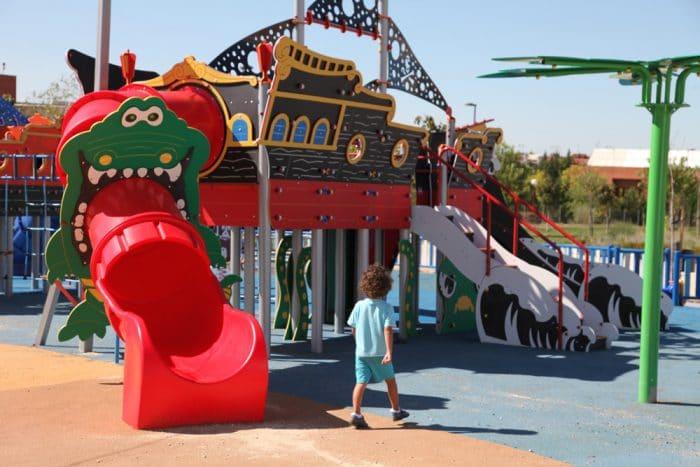 Parque Peter Pan, en Getafe, Madrid