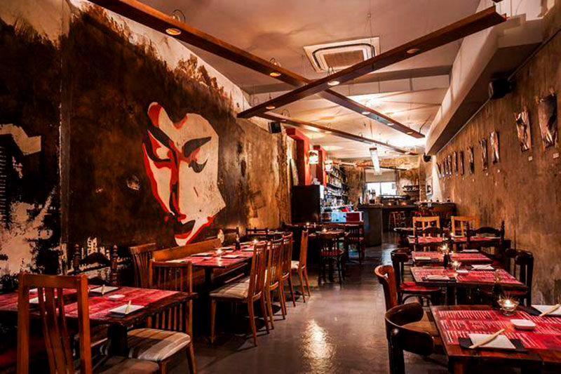 Restaurante Doble Zeroo, en Barcelona