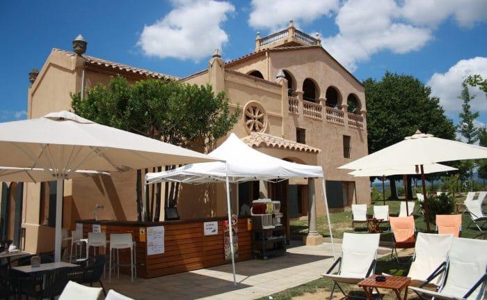 Restaurante vegetariano La Capella, en Sabadell, Cataluña