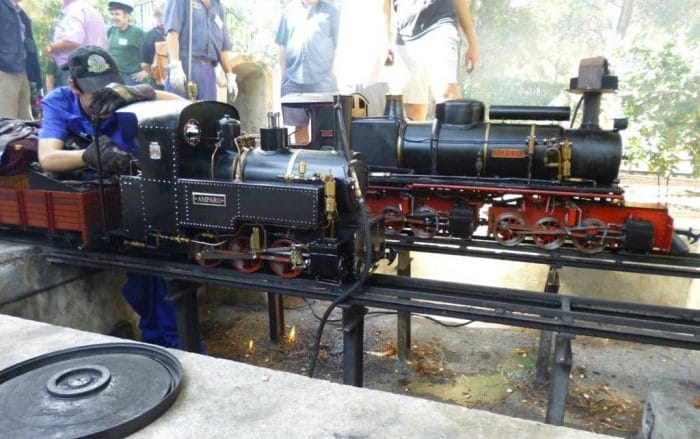 Tren en miniatura Club Ferroviario Vaporista de Mallorca, en Islas Baleares