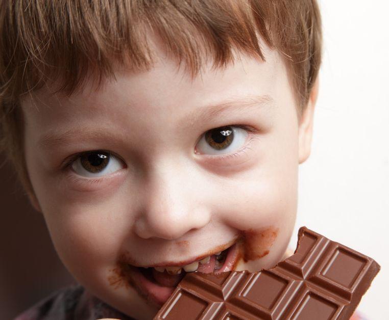 Beneficios del chocolate en los niños