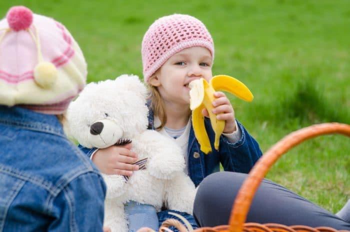 Beneficios del plátano para los niños