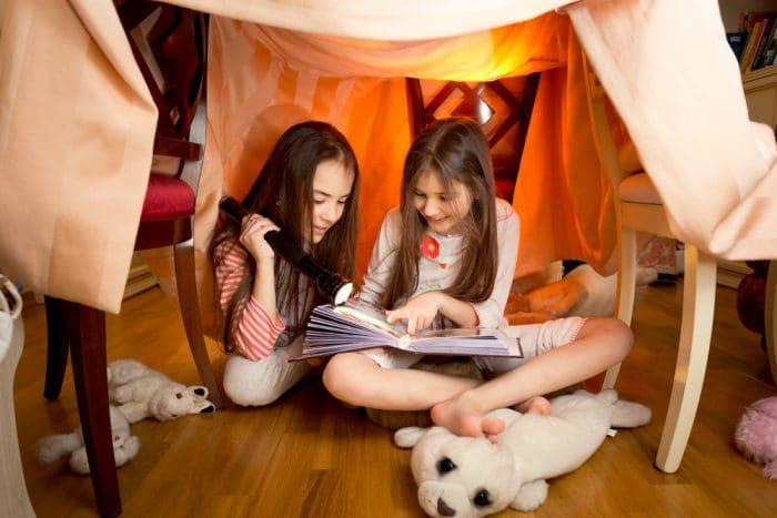 Experiencia niños cabaña refugio